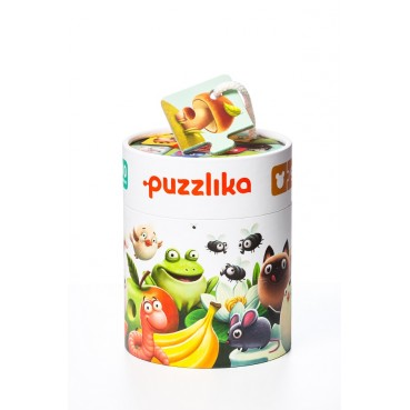 """PUZZLE """"MY FOOD"""""""