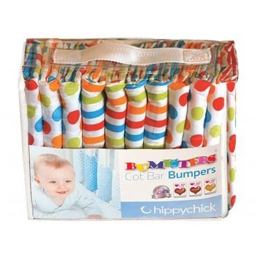 Bumpsters - osłonki na szczebelki - WĄSKIE - 12 sztuk